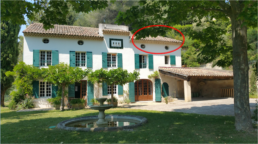 Room in provencal Bastide with pool - Aix-en-Provence - Ev