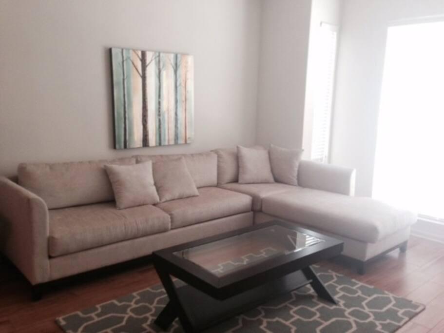 Living Room - Stafford Housing