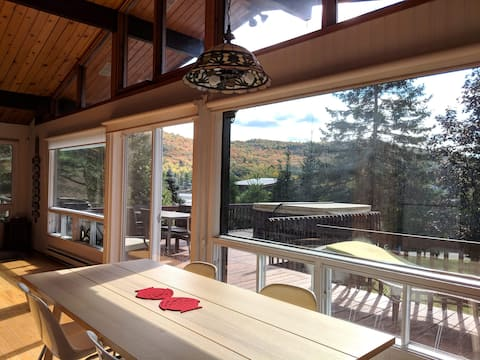 Magnifique chalet avec vue sur le lac *SPA