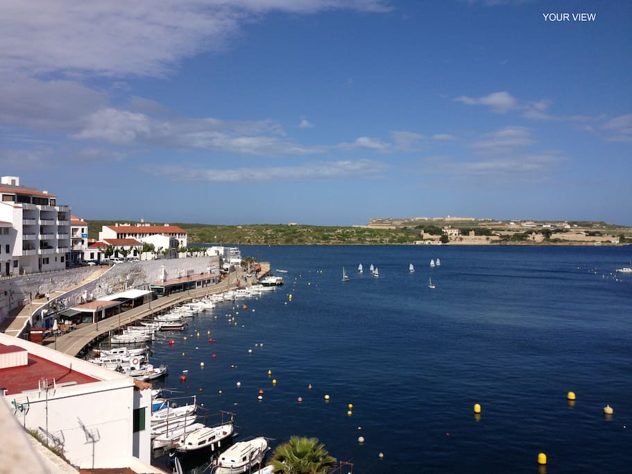 Magnificent View Of Calas Fonts Bay, the Famous Fishing Village