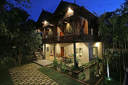 ISANN LODGE - Unique Khmer Villa+Pool - Krong Siem Reap