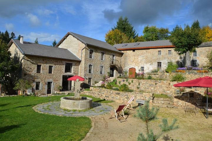 Moulin de Montabonnel : chambre d'hôte