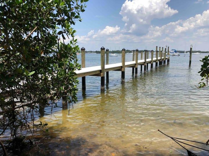 Tides Inn on the Bay Unit 3  Boat dock slip