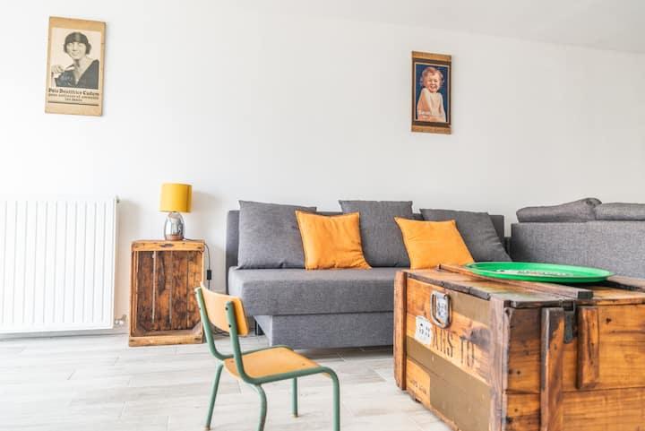 Appartement 60m² avec Jardin