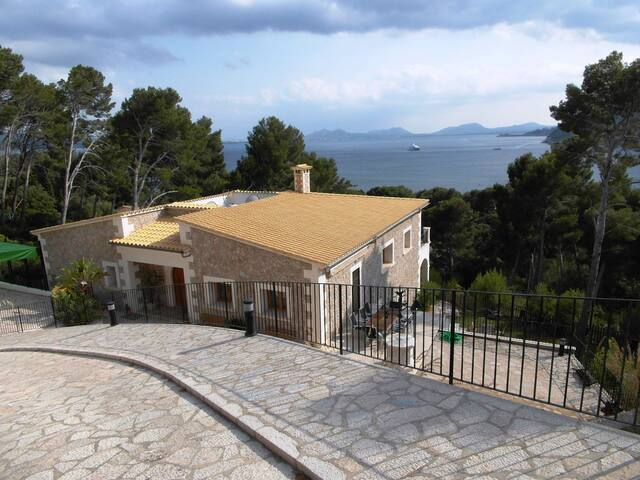 Preciosa villa en Formentor - Pollença - Hus