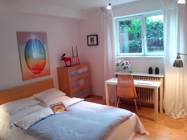 Bright basement room + garden - Neuss - Appartement