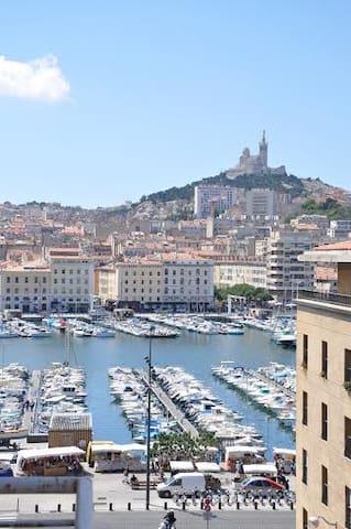 T1 vue exceptionnelle Vieux port - Marseille - Apartment