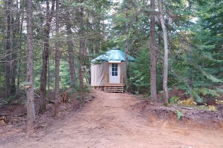 Great Lakes Yurt Camp: Brook Trout Yurt
