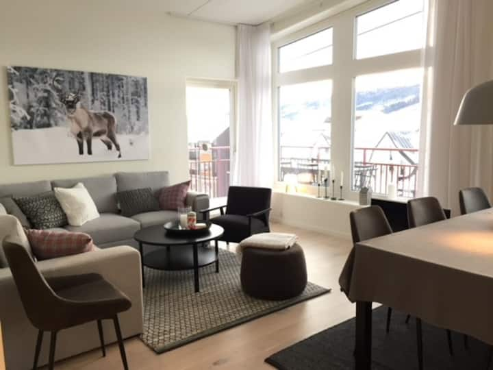 New apt central Åre (6+2) with spacious balcony