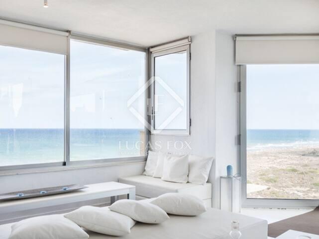 En primera línea de playa - Valencia - Appartement
