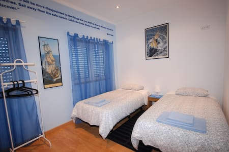 Twin room with shared bathroom - Figueira da Foz - Bed & Breakfast
