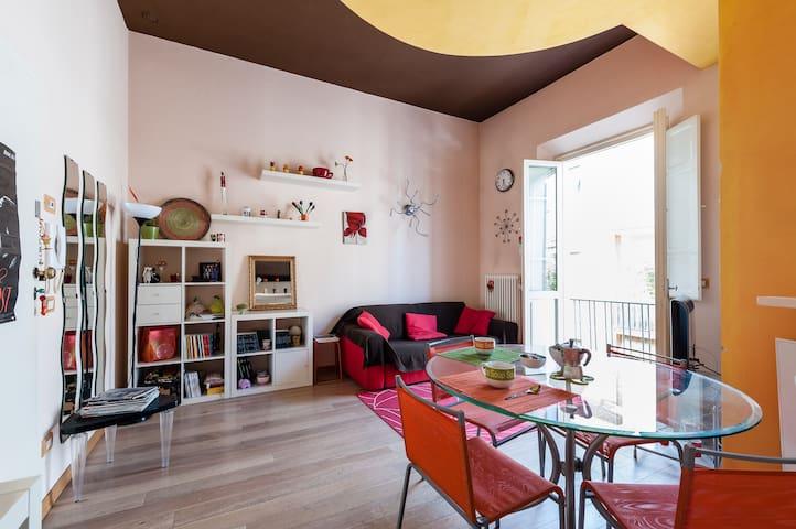 Colorato appartamento in centro - Pontedera