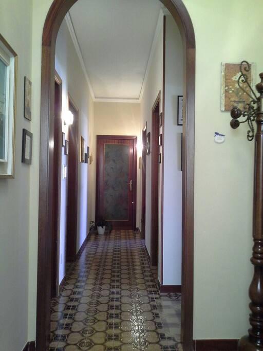 Entrance, corridor