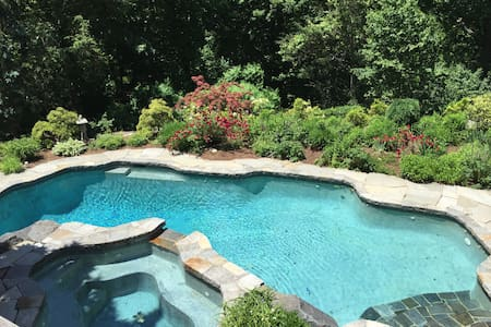Private Estate in Pound Ridge - Pound Ridge - Hus