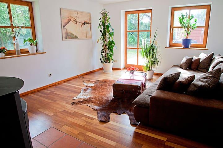 Wohnung in Ammerseenähe S Bahn nach München - Eresing - Apartament