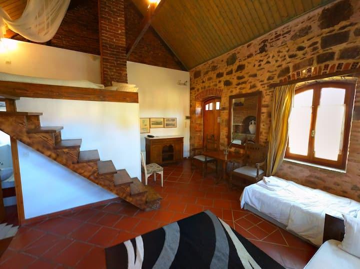 Cottage Dream Fireplace / Garden Enclosed Mytilene