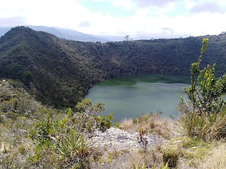 Laguna del cacique de guatavita