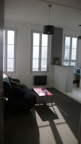 Studio au cœur du centre ville de La Rochelle