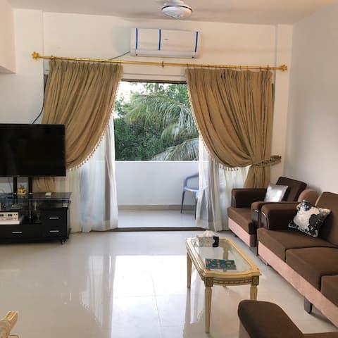 2 Bedroom Flat Central Location Clifton Karachi