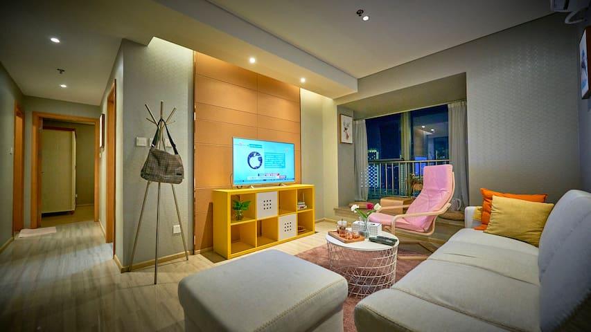 中山区 人民路 东港商务区 大连港客运码头 中心 海港城小区 旅行中提供一处像当地人一样生活的房子