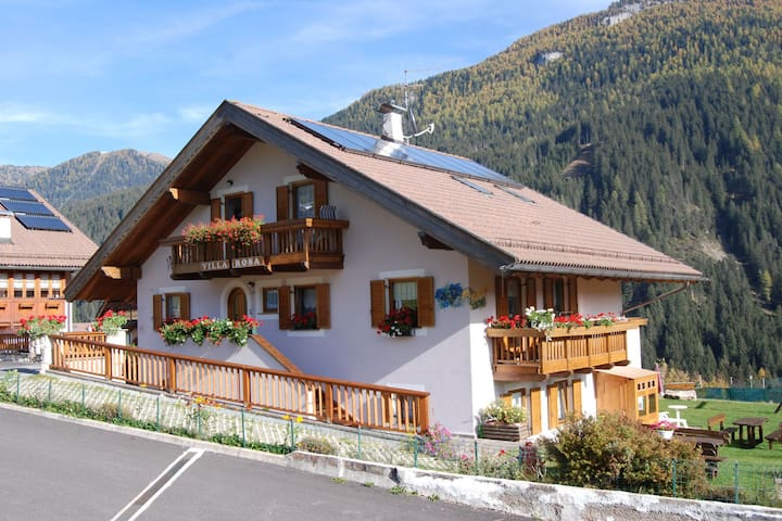 Scenic Chalet in Vigo di Fassa with Garden, Garden Furniture