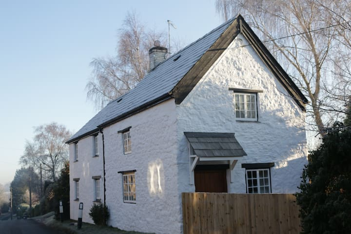 The White Cottage (view from road)