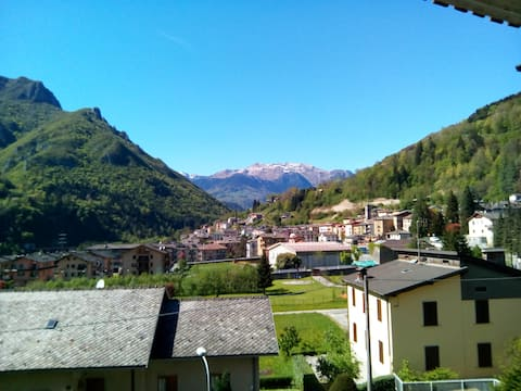 Cozy two-room apartment in Val Brembana