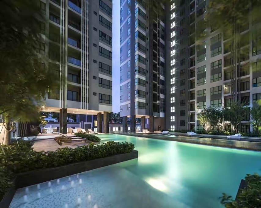 swimming pool building B 3 floor