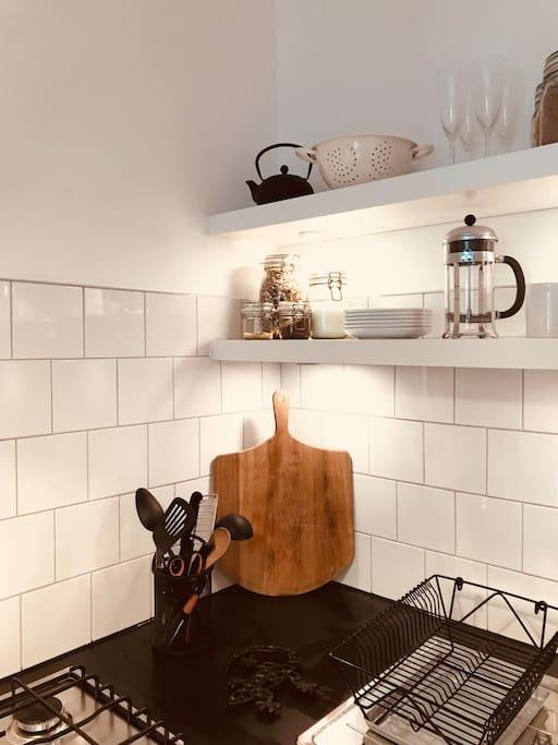 Stylish, functional kitchen