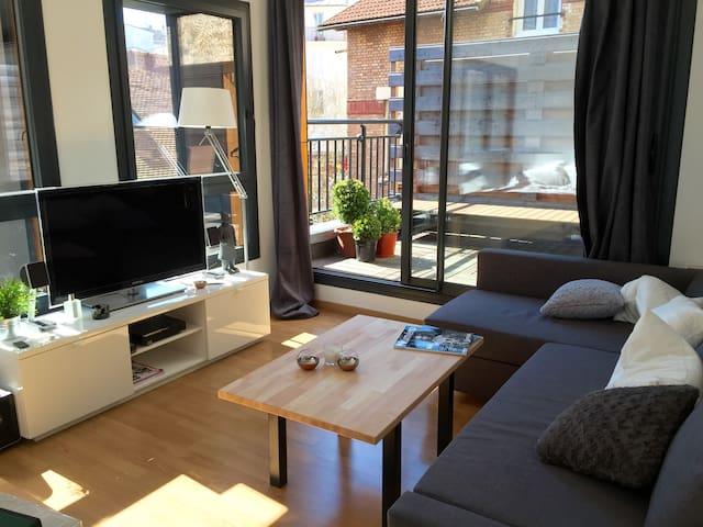 Appartement d'Architecte, 1 Ch / 1 SdB, 3 pers. - Paris - Apartemen