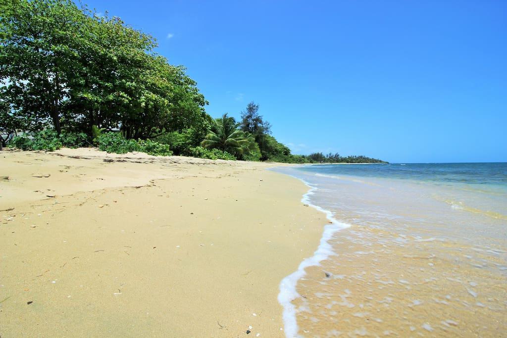 Resorts own beach