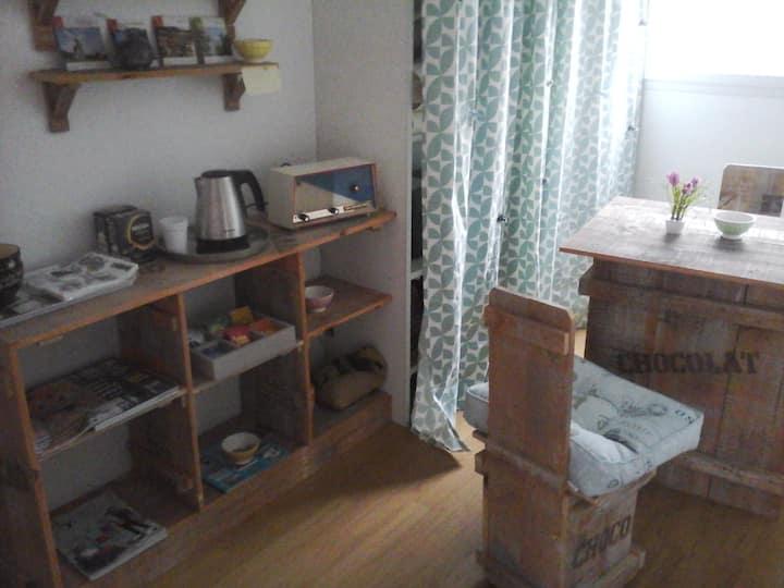 chambre avec petite dépendance loft