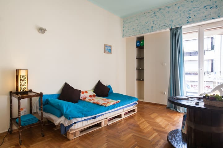 Will Be Glad To Have Guests - Kallithea - Apartment