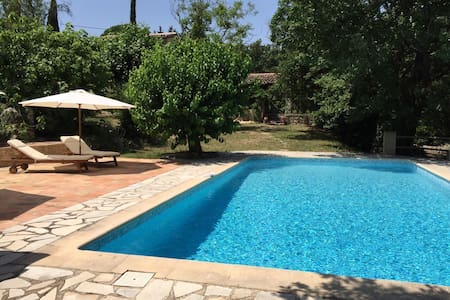 Private & Spacious House with Pool - Saint-Paul-en-Forêt - 独立屋