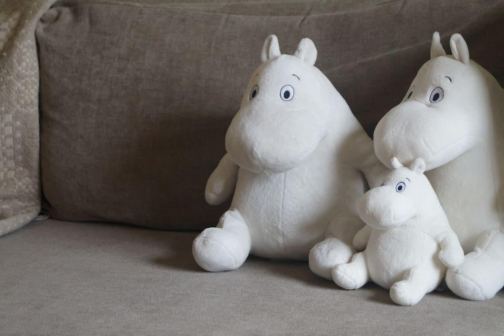 Moomin family