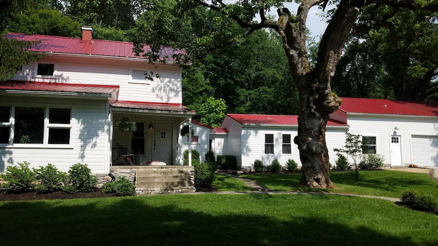 The Red Roof Farmhouse