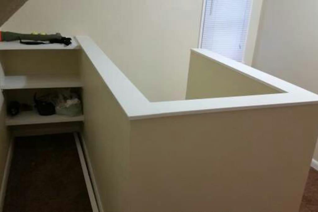 3rd floor loft area