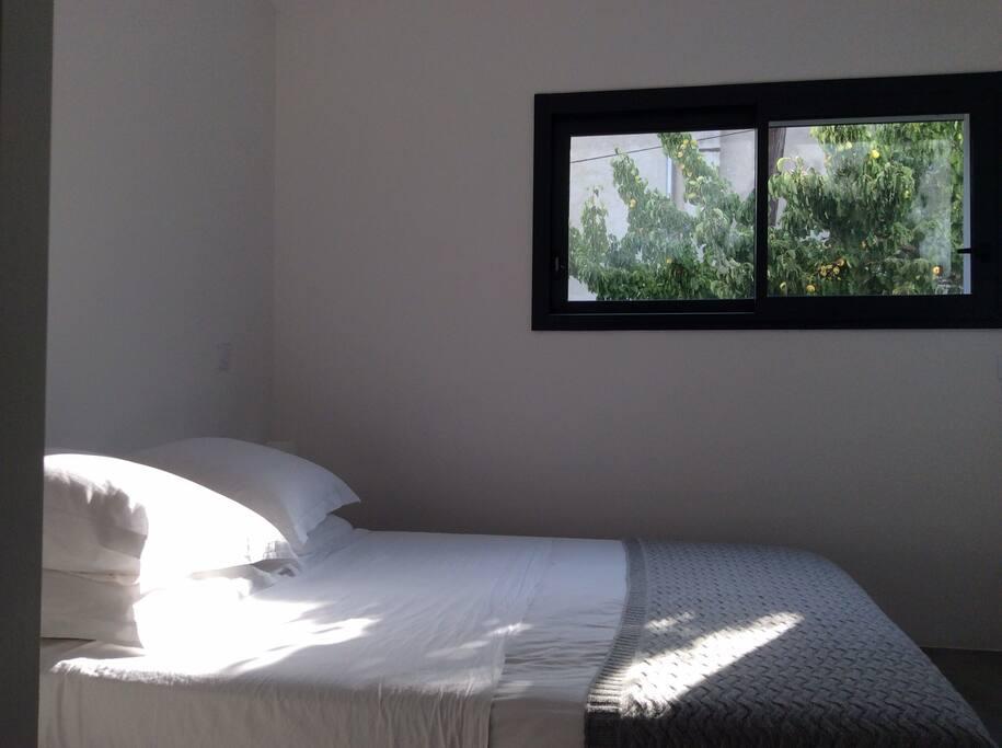 Chambre1 suite lit double dressing + SDE