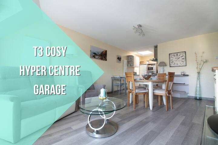 T3 COSY + HISTORIC CENTER + GARAGE - Vannes - Appartement