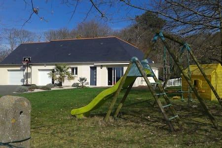 Maison proche de la nature face aux vignes - Benais - Dům