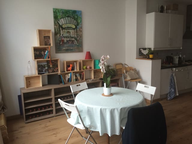 Cosy & fully equipped apartment - Etterbeek - Apartmen
