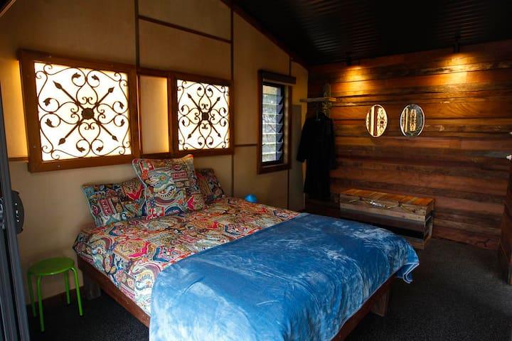 Top level bedroom.