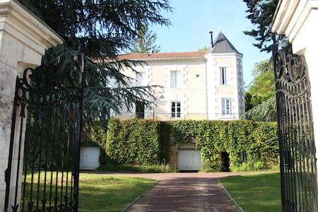 Grande chambre d'hôte dans maison de vigneron XIXe - Faverolles-sur-Cher