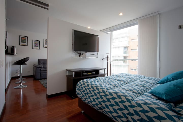 All here is comfortable and premium!!! - Bogotá - Loft