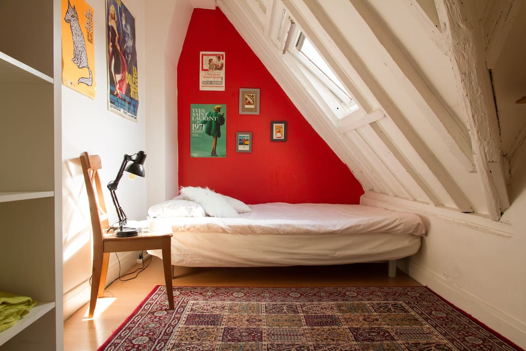 It's small but cosy and bright