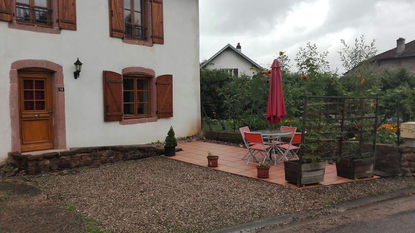 Gîte Sylvestre - Saint-Dié-des-Vosges - Apartment