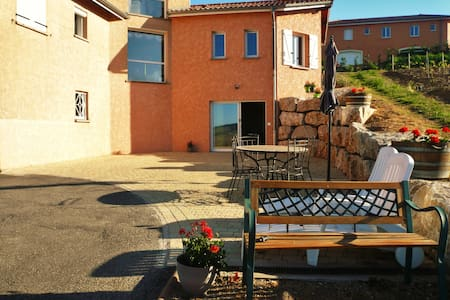 Studio Chocolat Pistache 1-6 places - Vaux-en-Beaujolais - Casa