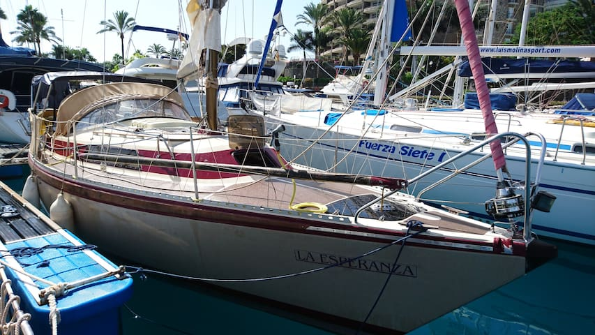 Beautiful Sailboat, Afloat Holiday in Puerto Mogan - Mogán