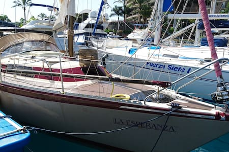 Beautiful Sailboat, Afloat Holiday in Puerto Mogan - Mogán - Bot