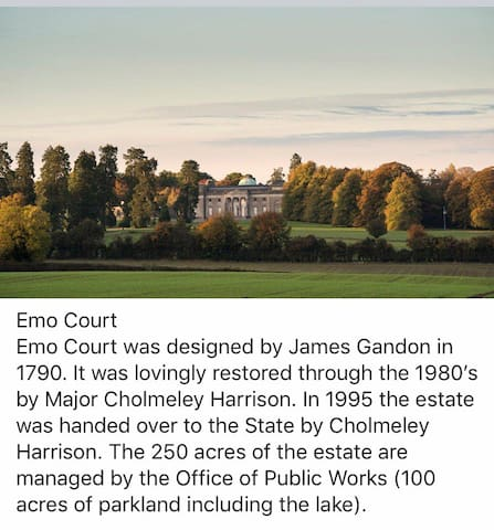 A little history about Emo Court and the gate lodge architect